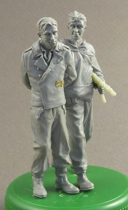 Sculpture: A prisoner for interrogation, photo #3