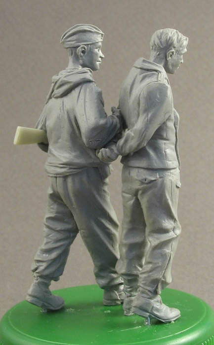 Sculpture: A prisoner for interrogation, photo #4
