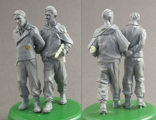 Sculpture: A prisoner for interrogation