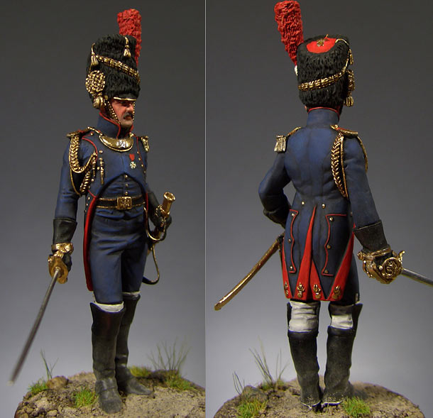 Figures: French artillery officer, 1812