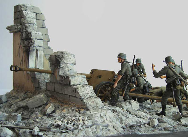 Dioramas and Vignettes: On the firing line