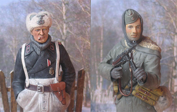 Figures: Wehrmacht Soldiers