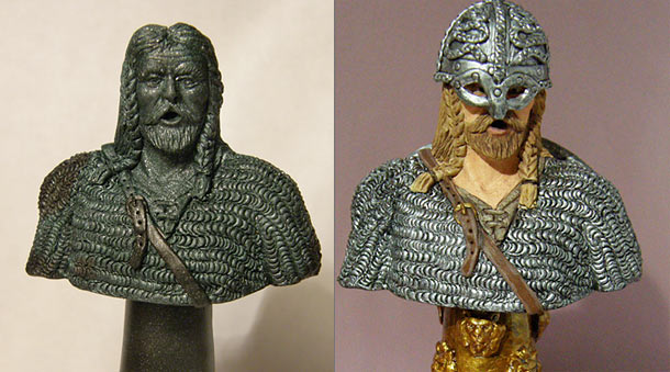 Sculpture: The Viking