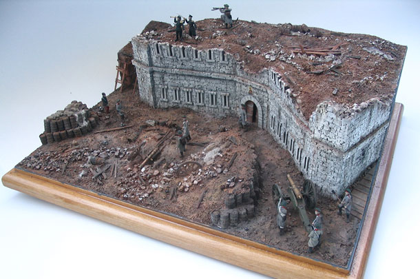 Dioramas and Vignettes: Defense of the Malakhov Hill, Crimean War.