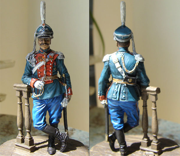 Figures: Colonel, Leib-Guards Dragoons regt., Russia, 1910-14