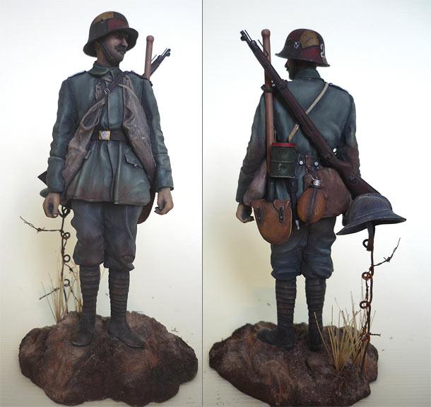 Figures: German stormtrooper, 1918