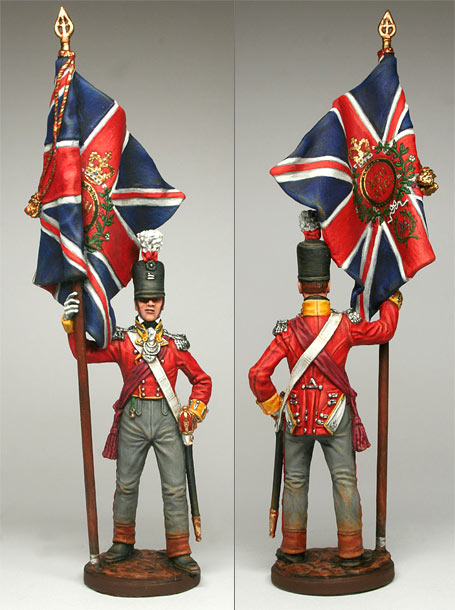 Figures: Officer, 92nd Highlanders, 1809-15