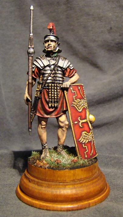 Figures: Roman Legionary, I century A.D., photo #1