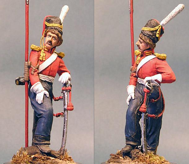 Figures: Leib-Guards Cossack