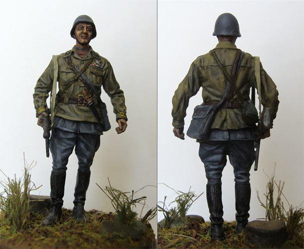 Figures: Bersaglieri officer, batallion