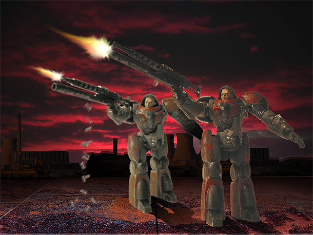 Miscellaneous: StarCraft Units