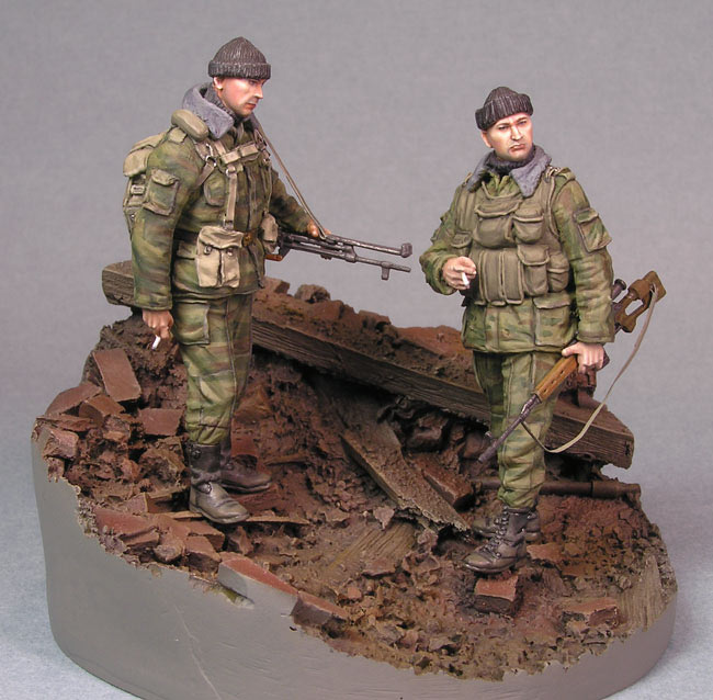 Dioramas and Vignettes: Minute of rest in Grozny, photo #2