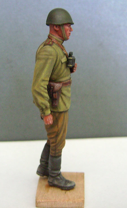 Figures: Red Army officer, summer 1943, photo #6