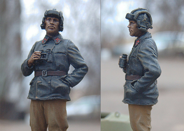 Figures: Lt.Colonel of Armored Troops