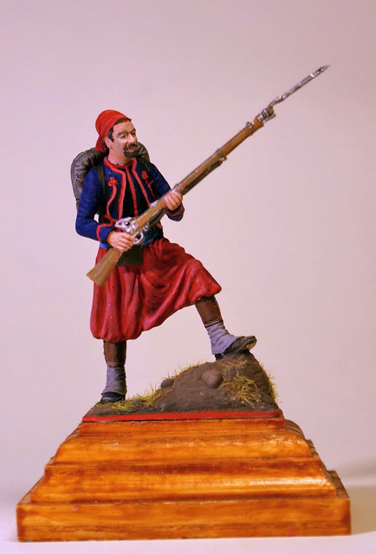 Figures: French Zouave, Crimean war, photo #1