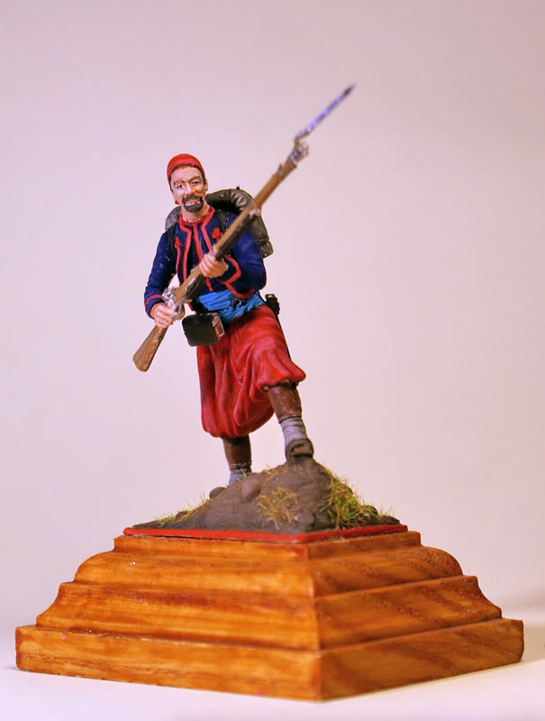 Figures: French Zouave, Crimean war, photo #2