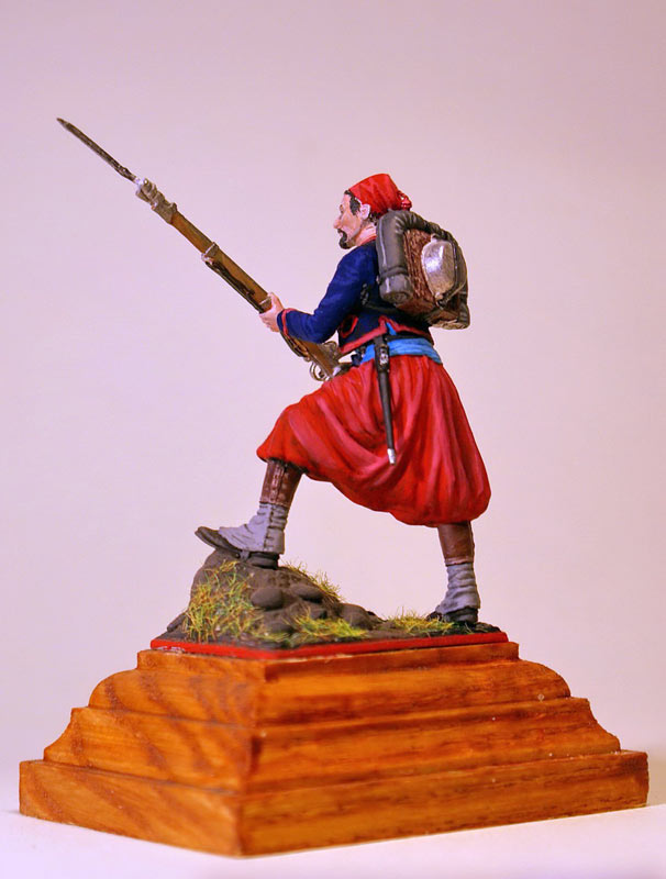 Figures: French Zouave, Crimean war, photo #3