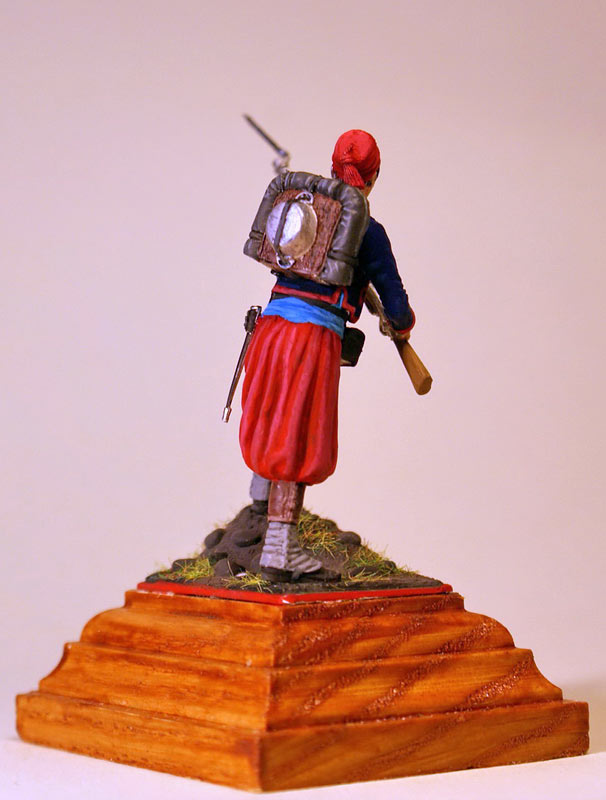 Figures: French Zouave, Crimean war, photo #4