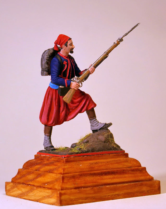 Figures: French Zouave, Crimean war, photo #5
