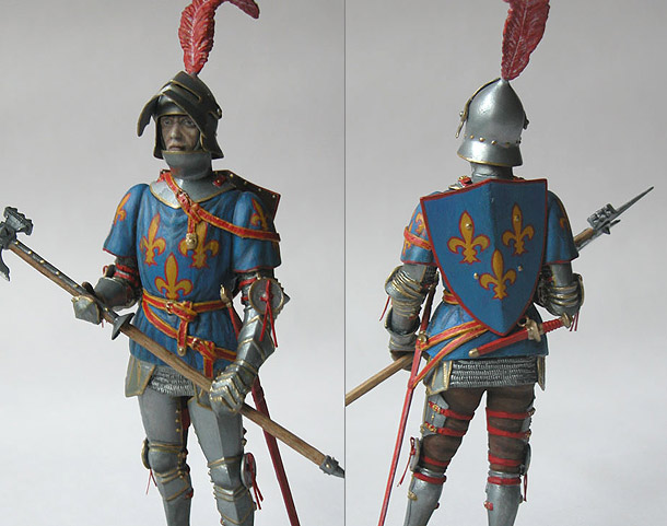 Figures: French Knight, 15 AD