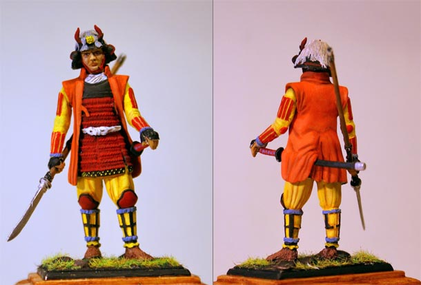 Figures: Samurai, 1570
