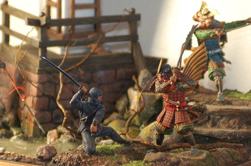Dioramas and Vignettes: Medieval Japan, photo #2