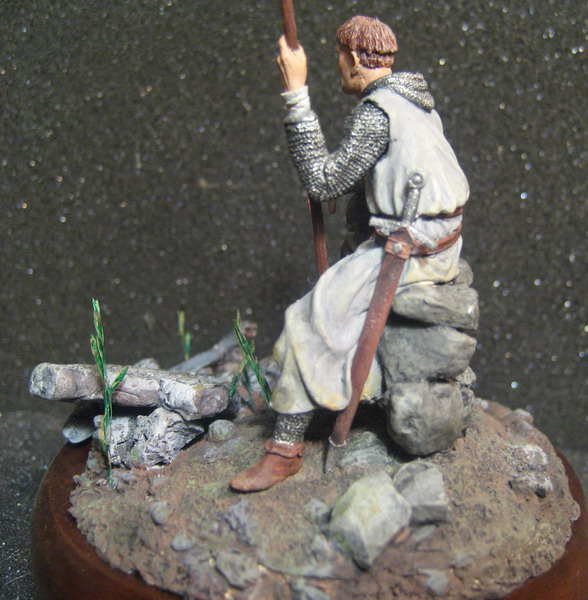 Figures: Norman and Saxon warriors, photo #3