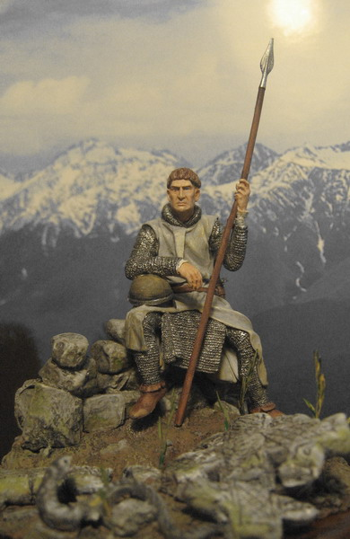 Figures: Norman and Saxon warriors, photo #5