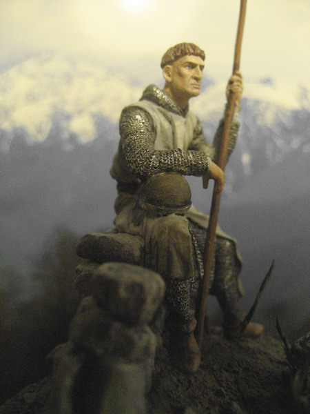 Figures: Norman and Saxon warriors, photo #6