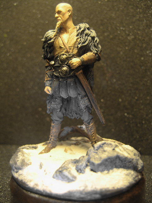 Figures: Norman and Saxon warriors, photo #8