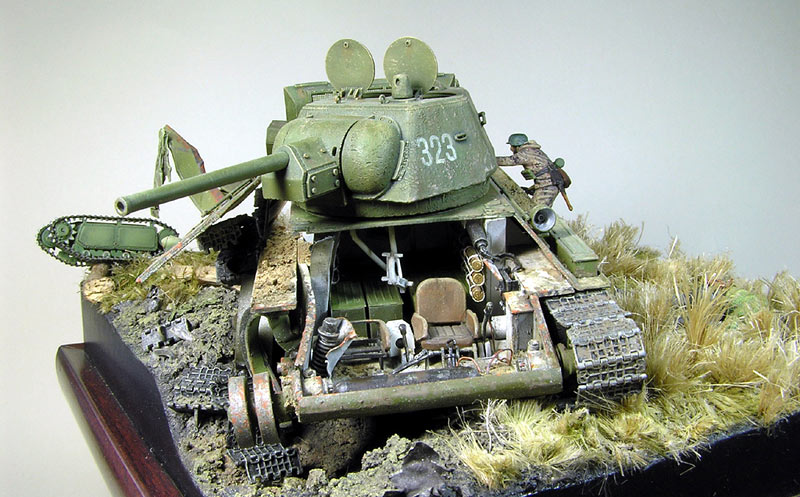 Dioramas and Vignettes: Tank Hunters, photo #1