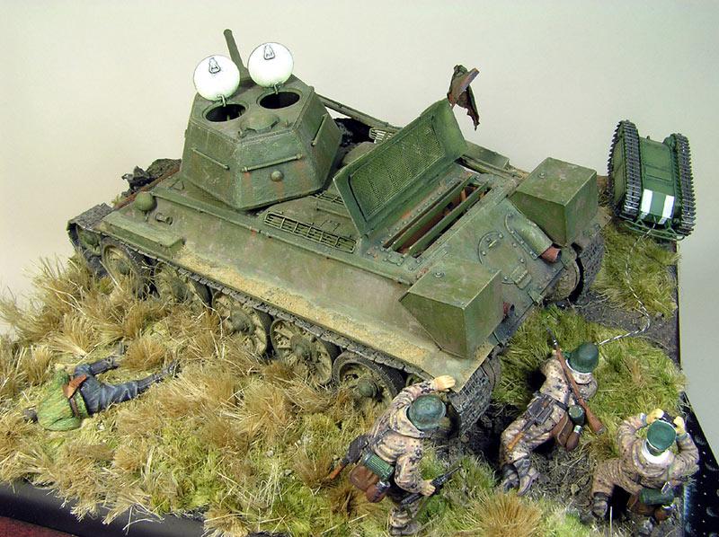 Dioramas and Vignettes: Tank Hunters, photo #10