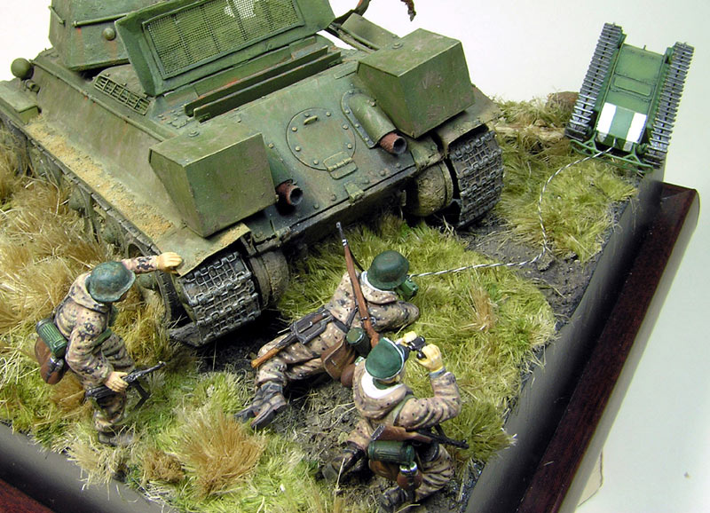 Dioramas and Vignettes: Tank Hunters, photo #11