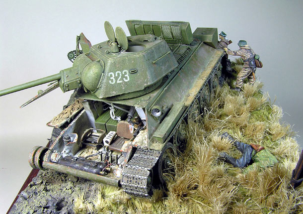 Dioramas and Vignettes: Tank Hunters