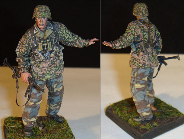 Figures: Grenadier, 12th SS Panzer div.
