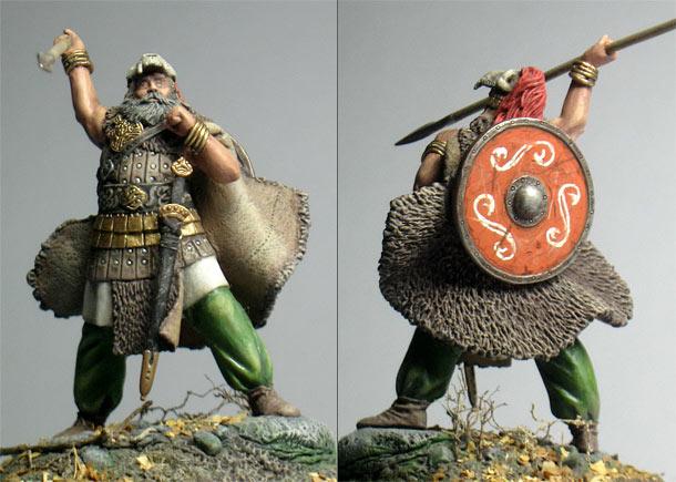 Figures: Cuchulain, Irish mythological hero
