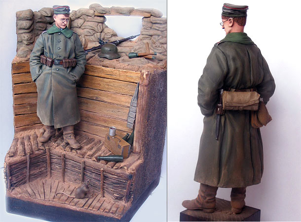 Dioramas and Vignettes: All Quiet at the Western Front. The Recruit