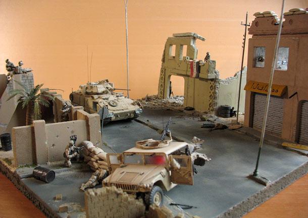 Dioramas and Vignettes: Fallujah, 2004