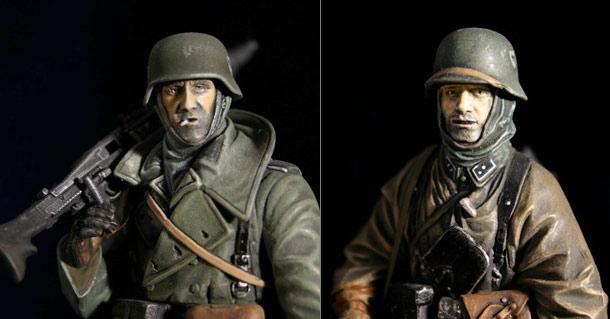 Figures: Machine Gunners