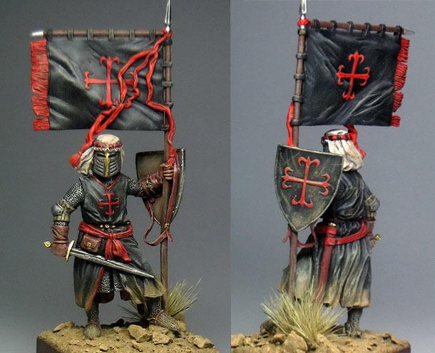 Figures: Knight, Order of Calatrava, XIII century