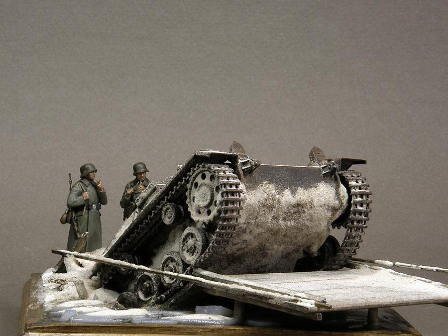 Dioramas and Vignettes: Frozen StuG, photo #3
