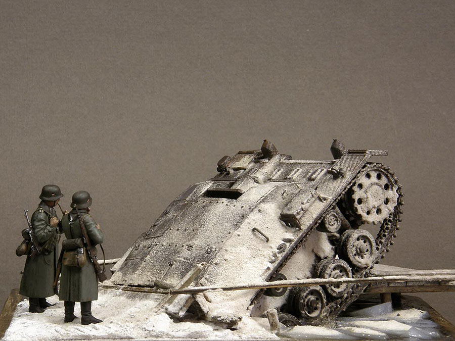 Dioramas and Vignettes: Frozen StuG, photo #4