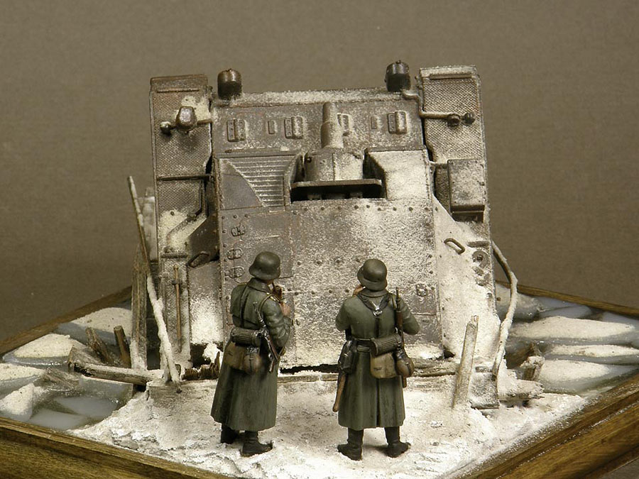 Dioramas and Vignettes: Frozen StuG, photo #5