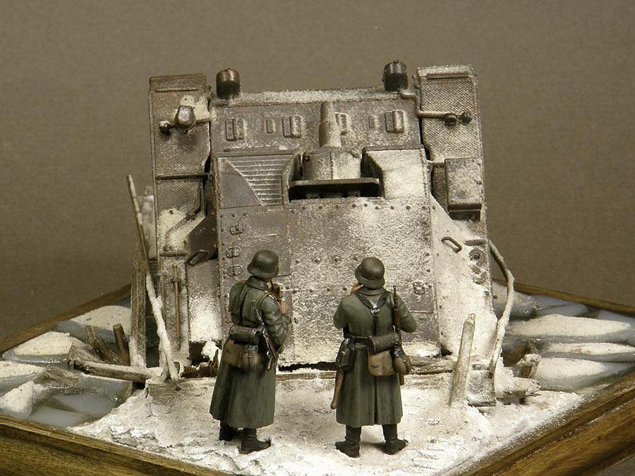 Dioramas and Vignettes: Frozen StuG, photo #5