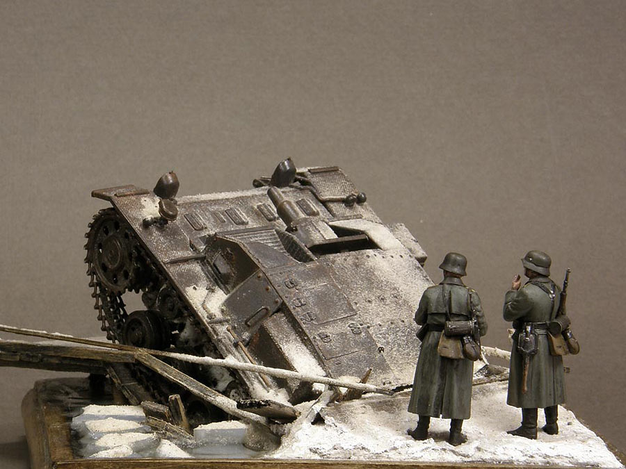 Dioramas and Vignettes: Frozen StuG, photo #6