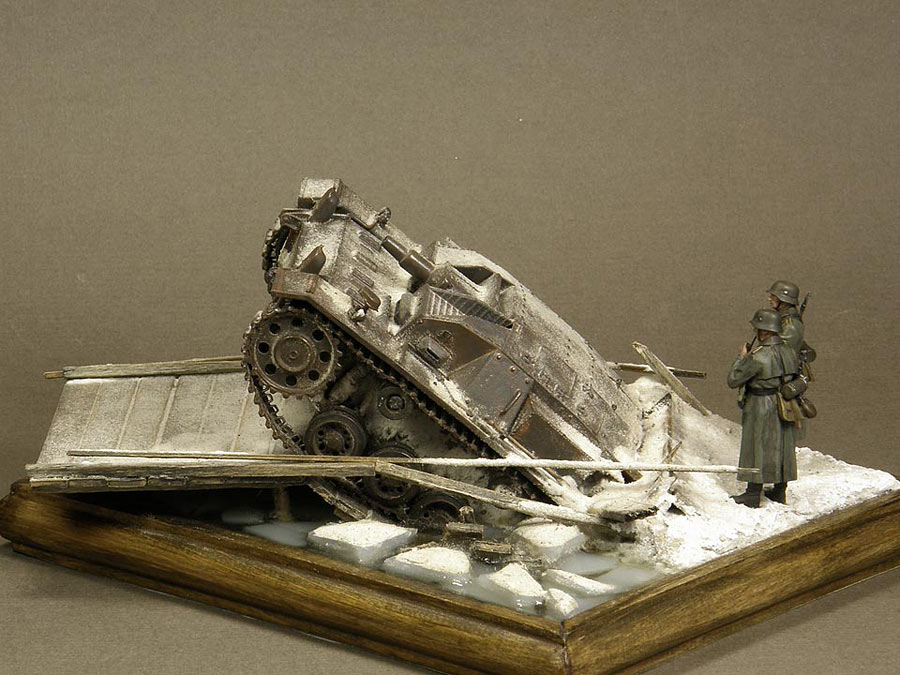 Dioramas and Vignettes: Frozen StuG, photo #7