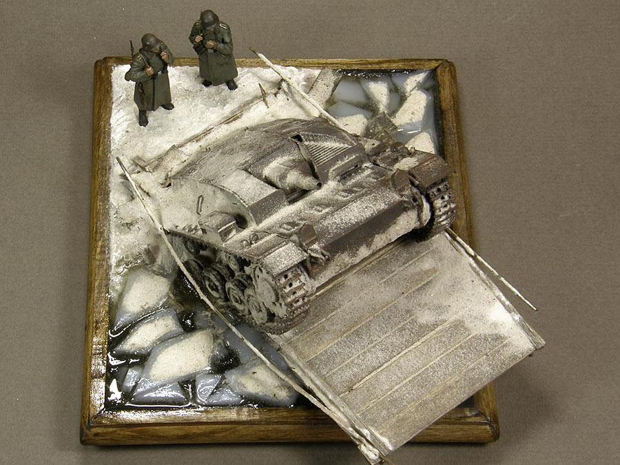 Dioramas and Vignettes: Frozen StuG, photo #8