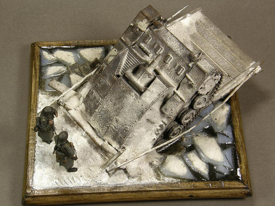 Dioramas and Vignettes: Frozen StuG, photo #9