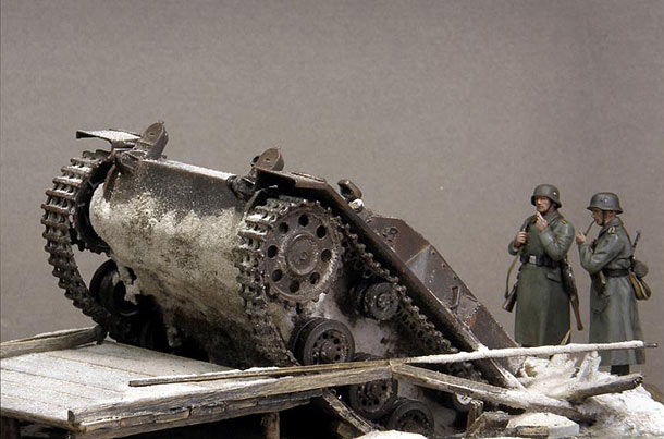 Dioramas and Vignettes: Frozen StuG