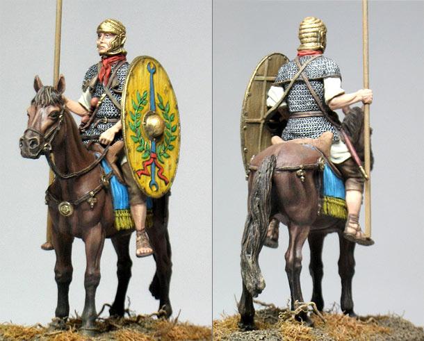 Figures: Roman auxiliary cavalryman